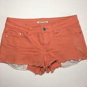 FOREVER 21 Denim Juniors Size 29 Frayed Shorts